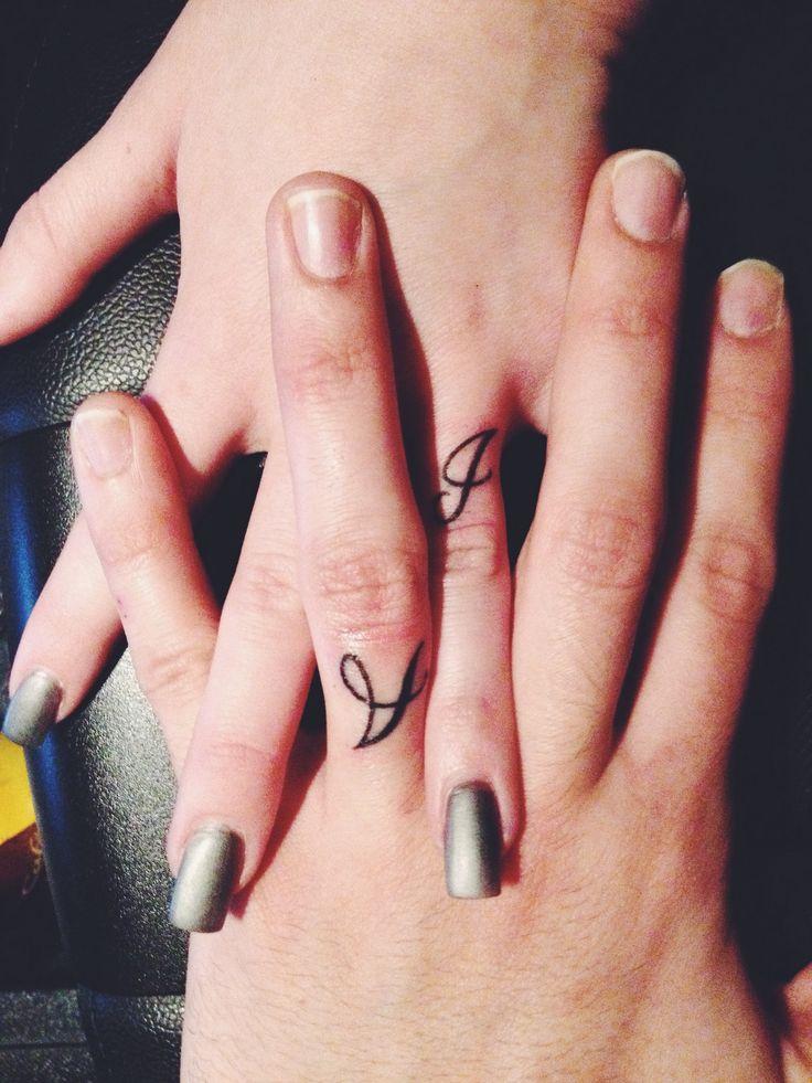 0cfe92cf7a4e3 Couple Finger Tattoo Designs