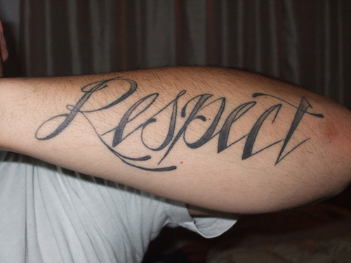 Guy Tattoo Designs: 50+ Awesome Respect Tattoos