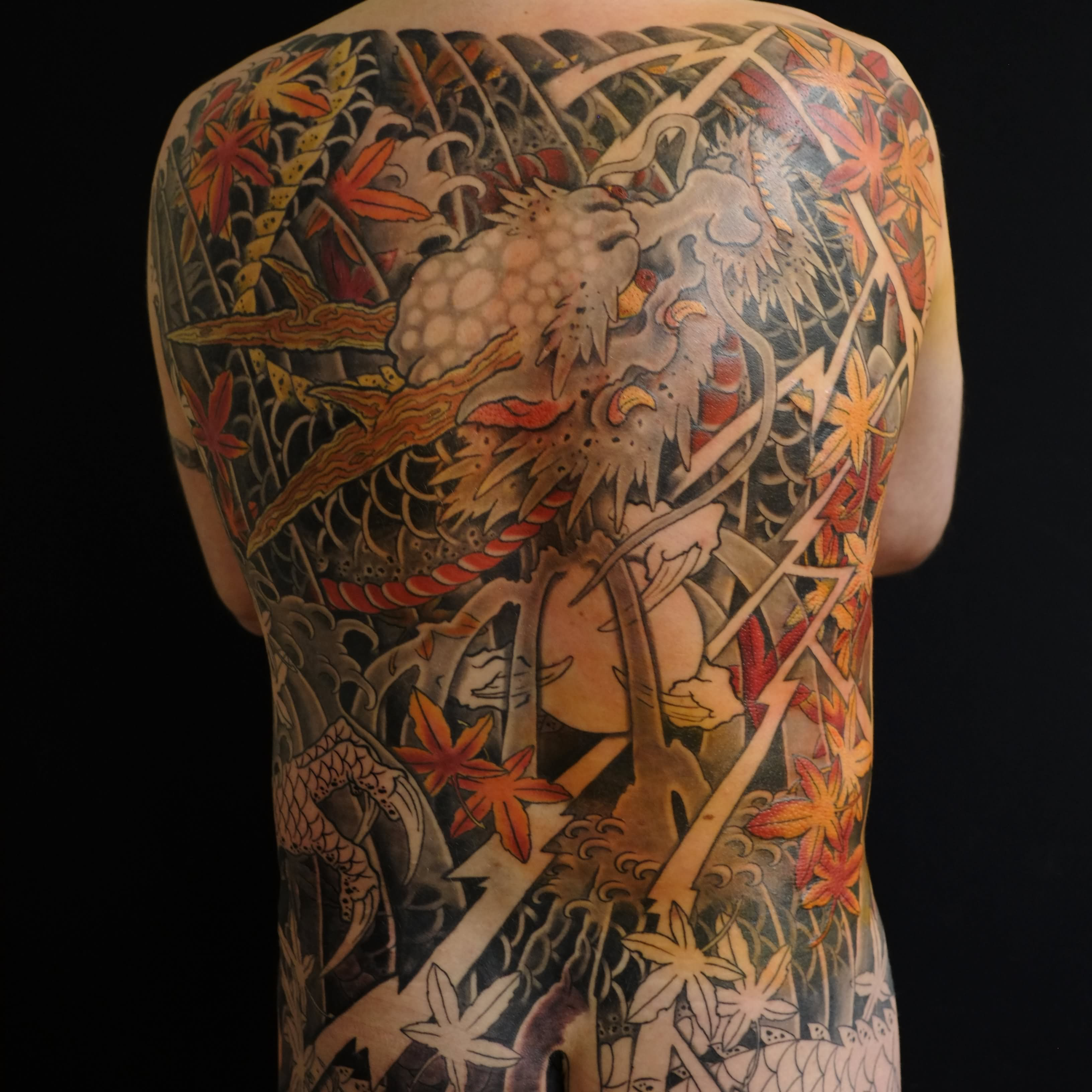 70 full body dragon tattoos for Japanese body tattoo