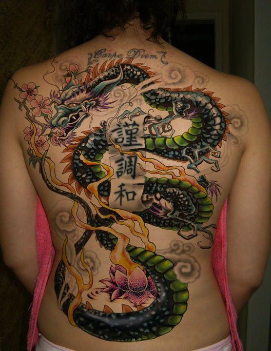 70 Full Body Dragon Tattoos