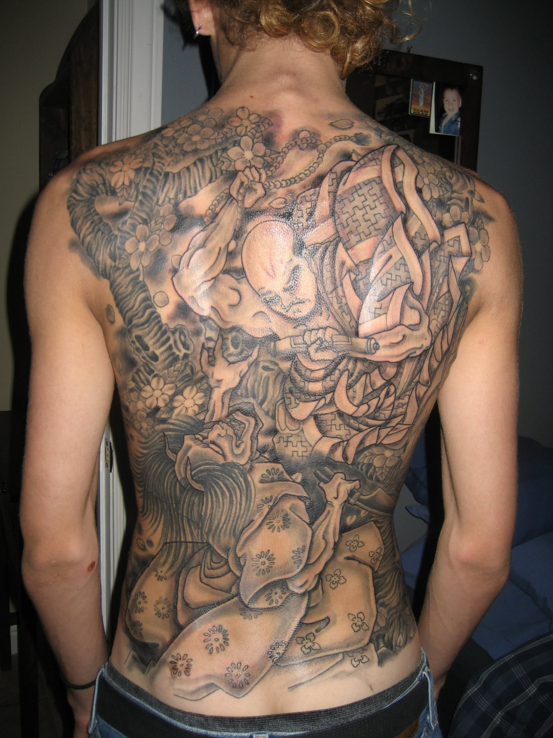 70 incredible full body tattoos for Japanese body tattoo