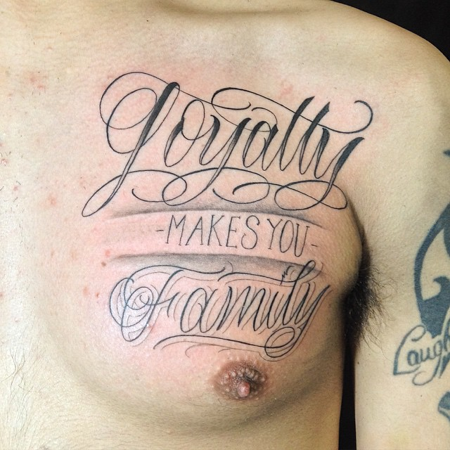 Family Tattoo Ideas Unique: 45+ Unique Loyalty Tattoo Pictures