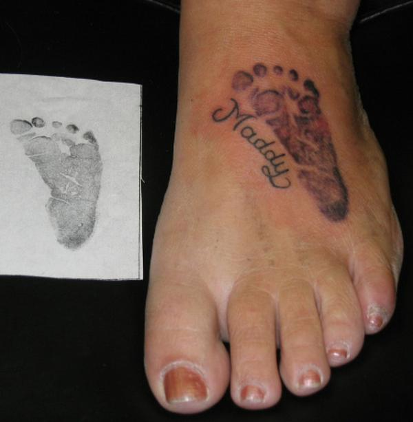 100 Awesome Feet Tattoos