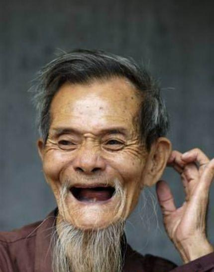 Image result for smiling man with no teeth