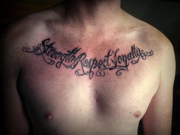 50 awesome respect tattoos for Strength tattoos ideas