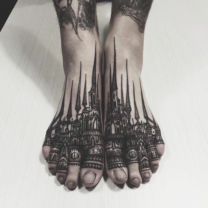 Foot Tattoos: 100+ Awesome Feet Tattoos