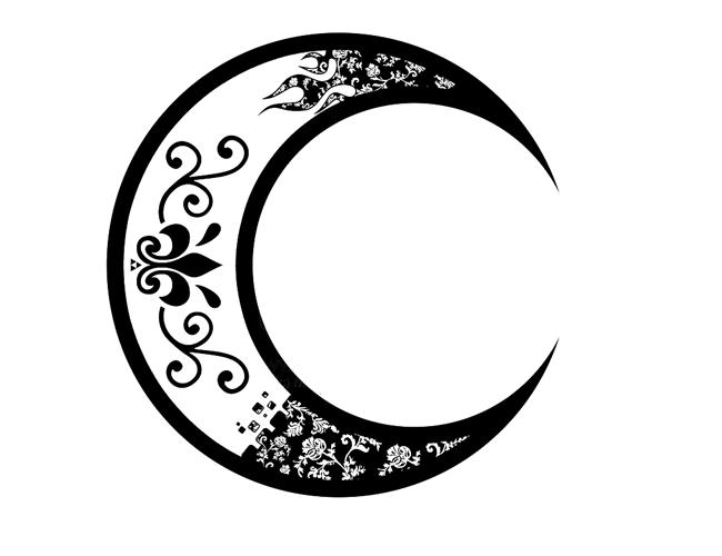 32 moon tattoo designs. Black Bedroom Furniture Sets. Home Design Ideas