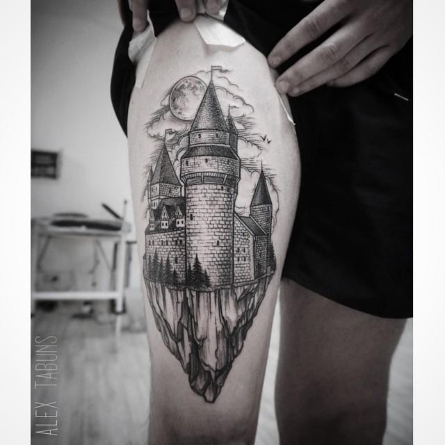 Dark Fairytale Tattoo Designs