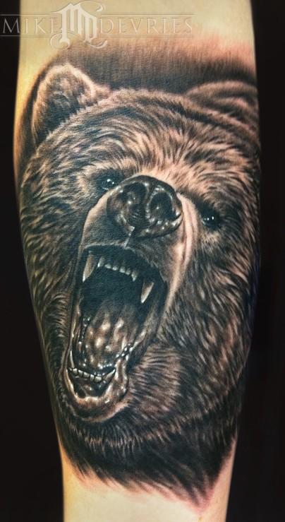45+ Awesome Bear Tatto...