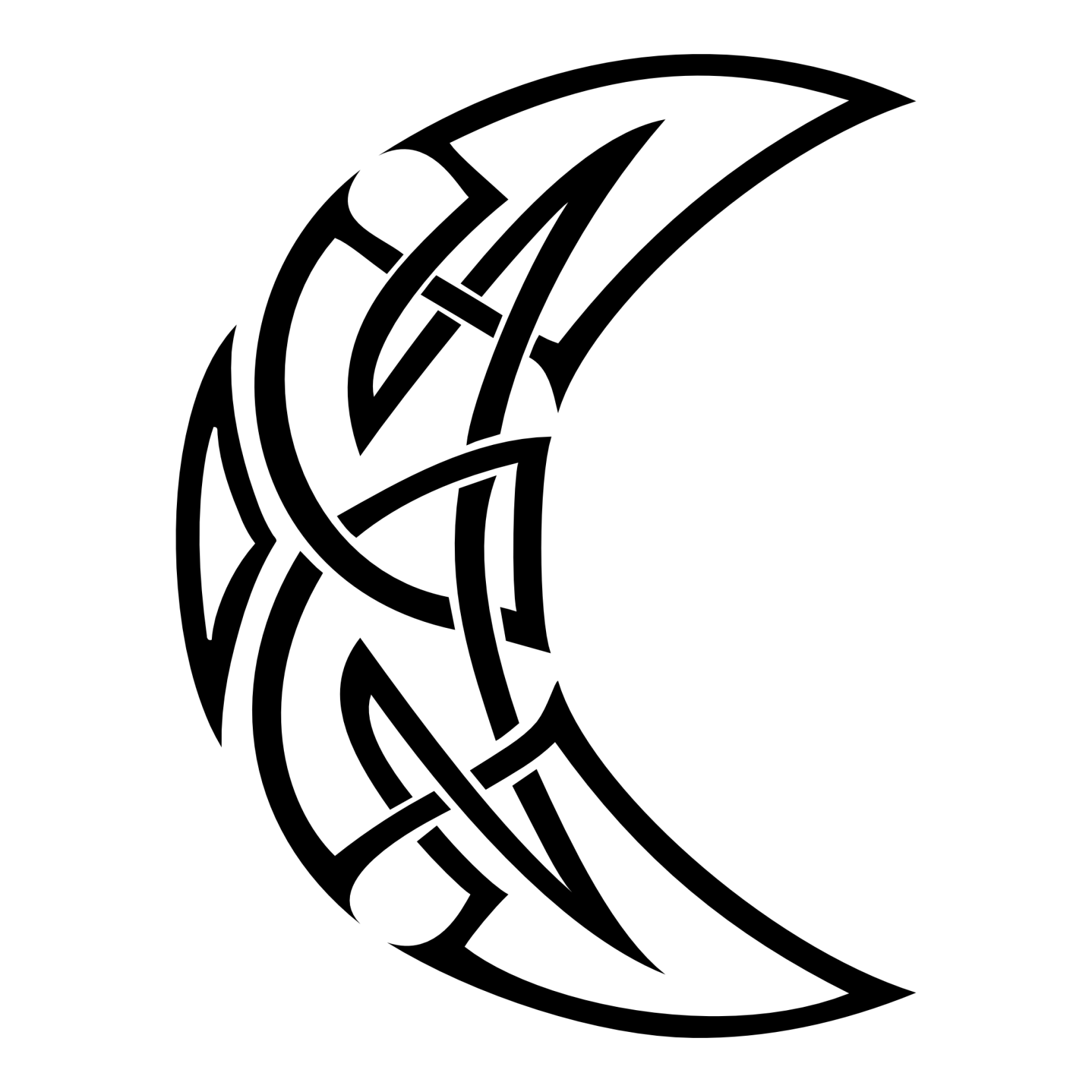 32+ Moon Tattoo Designs