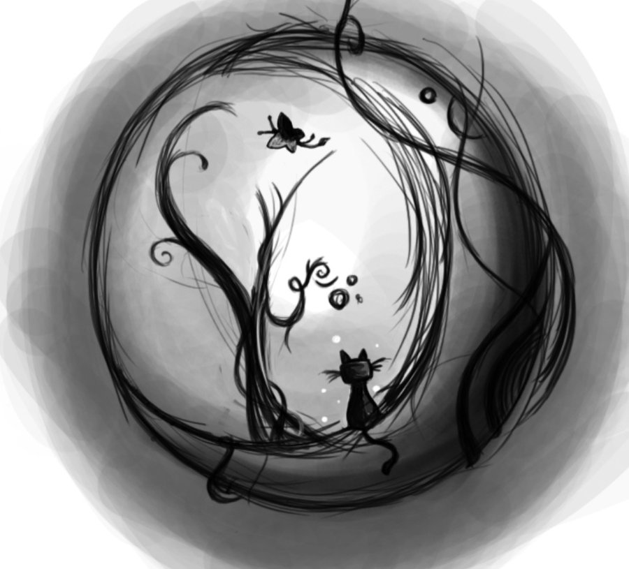 Moon Tattoo Sketch 32 Designs