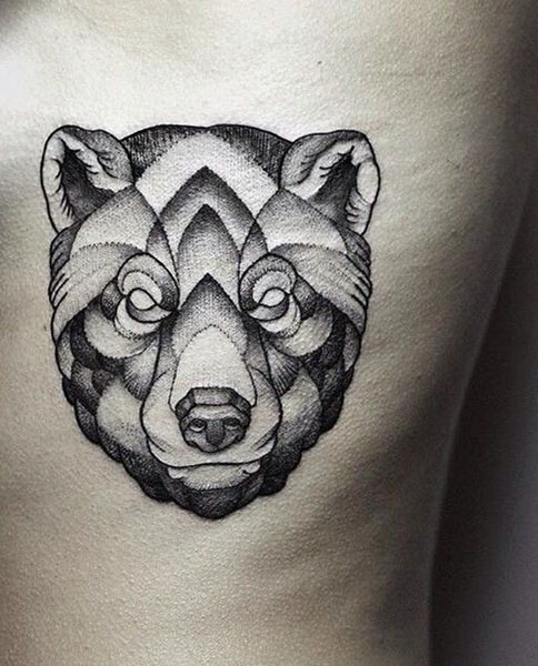 45 awesome bear tattoos