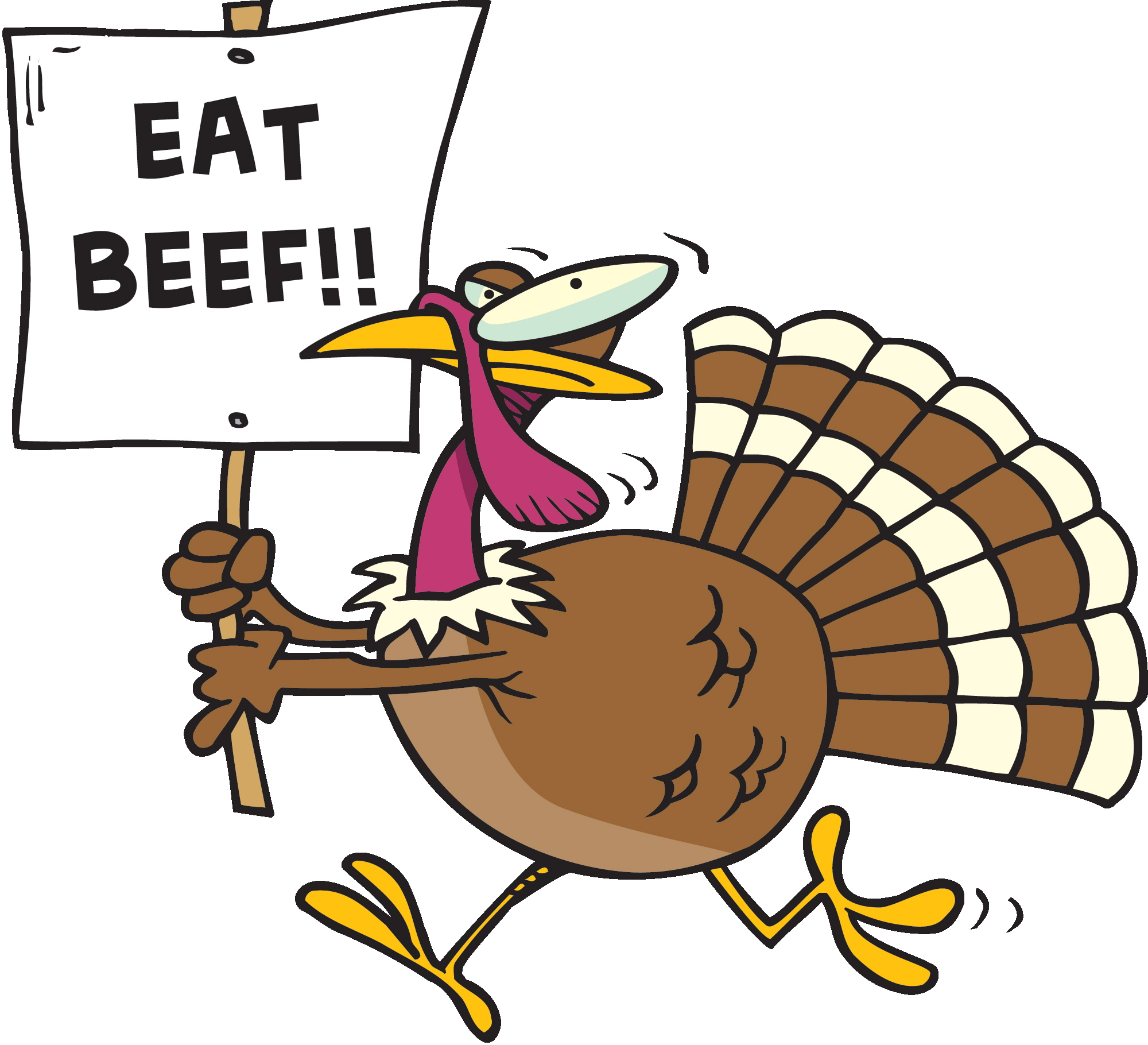 eat beef funny turkey clipart image clipart for thanksgiving dinner clip art for thanksgiving free