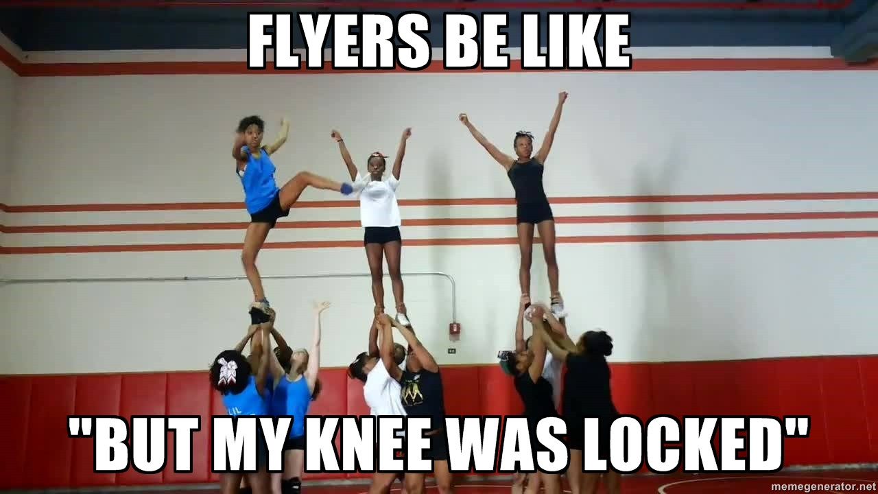 15 Very Funny Cheerleading Pictures And Images