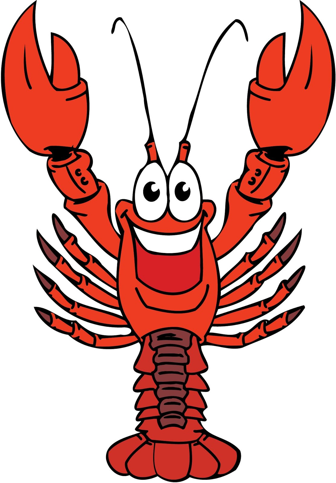 funny lobster clipart - photo #3