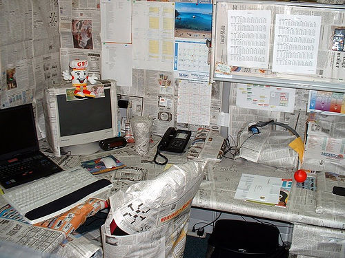 Funny Office Prank Picture