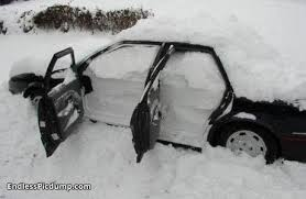 Funny Prank Snow Car Picture