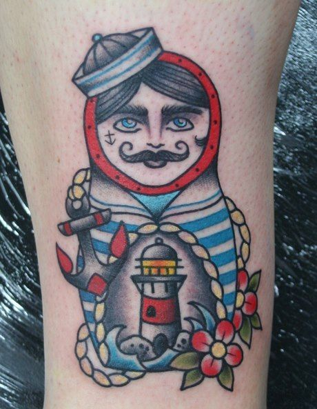 Nesting Doll Tattoo Designs
