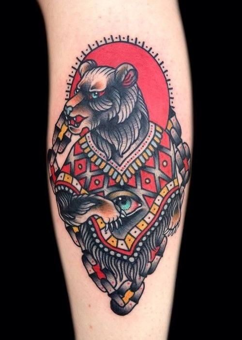 45 Awesome Bear Tattoos