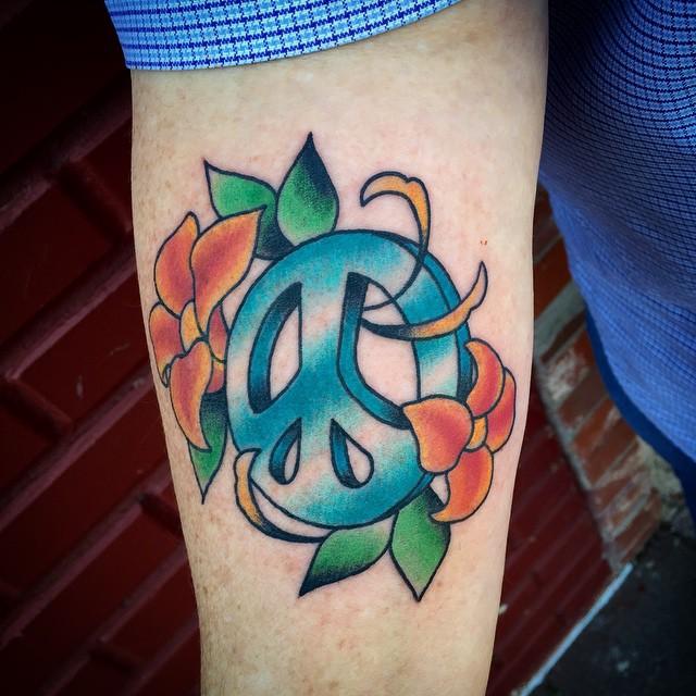 70+ Cute Peace Tattoos