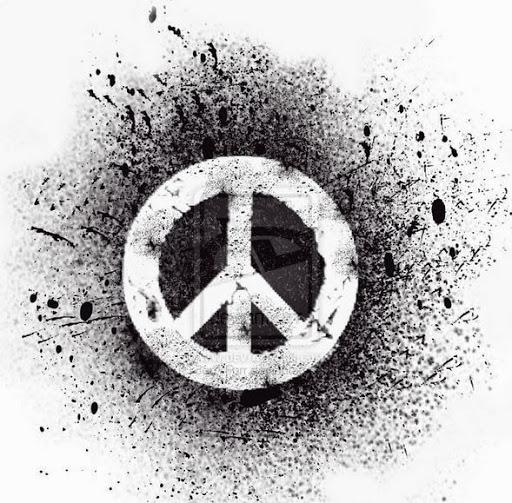 70 cute peace tattoos for Tattoo style logo design