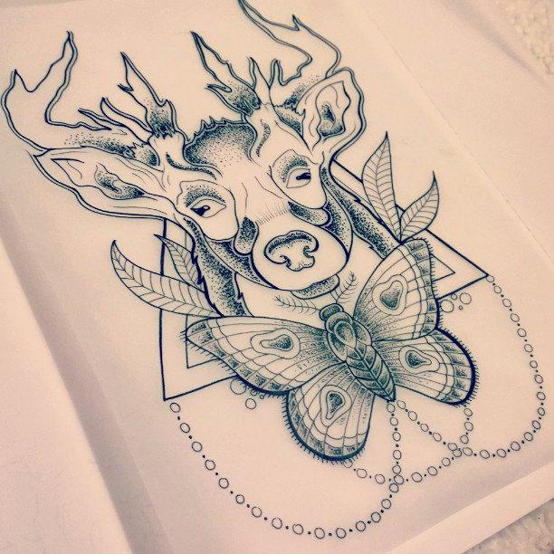 35 Famous Moth Tattoos Designs