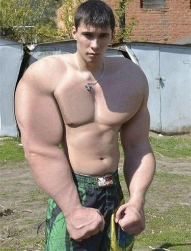 Funny Boy Photoshop Muscle