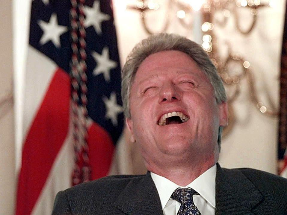 Funny Laughing Bill Clinton Picture 50 most funny bill clinton pictures and photos