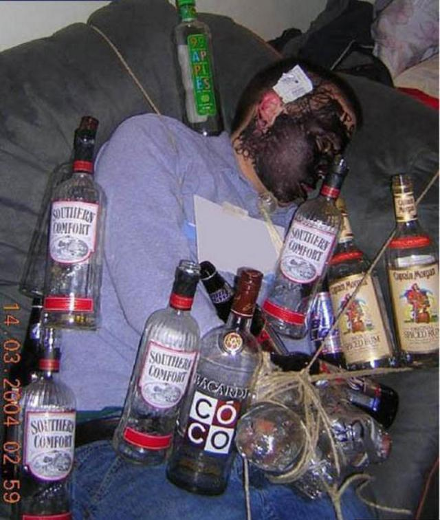 35 Most Funny Passed Out Pictures Of All The Time