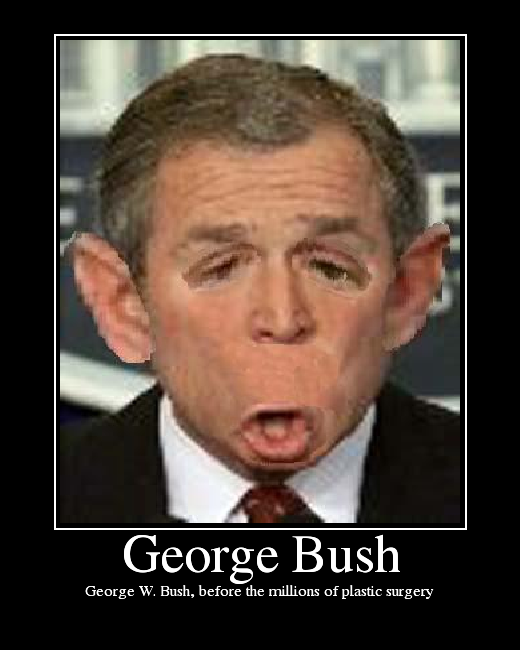 45 Very Funny George Bush Pictures And Images