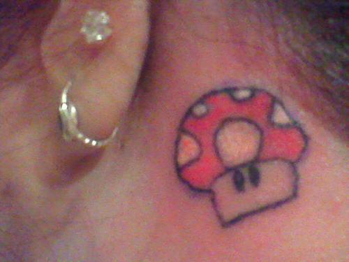 45 Mario Mushroom Tattoos