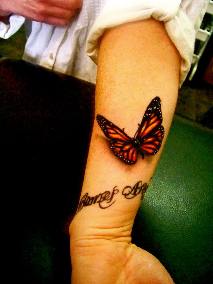 wrist tattoos tattoo butterfly nice flying