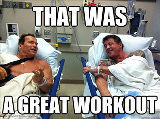 That Was A Great Workout Funny Muscle Meme