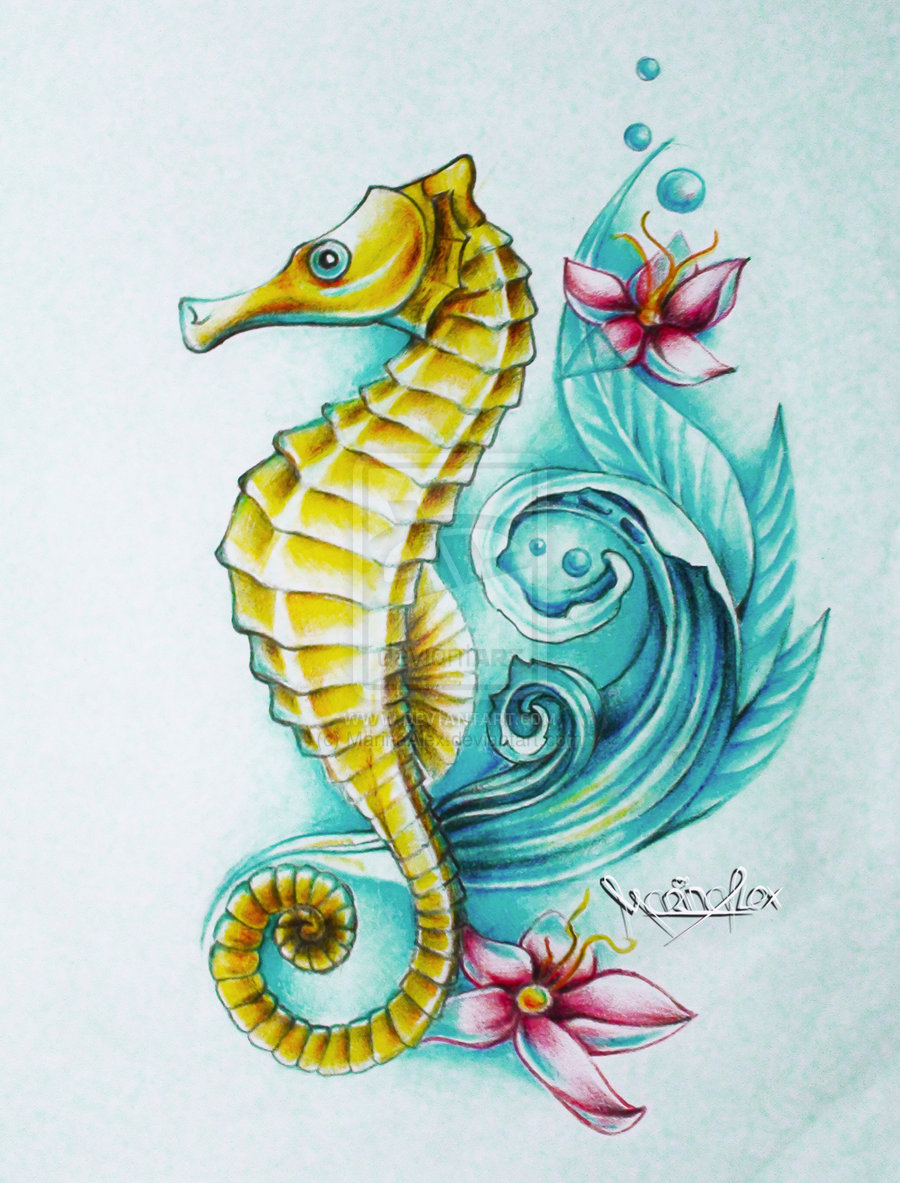 Seahorse Tattoo Designs 30 Unique Tattoos
