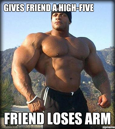 50 Most Funny Muscle Pictures That Make You Laugh Every Time