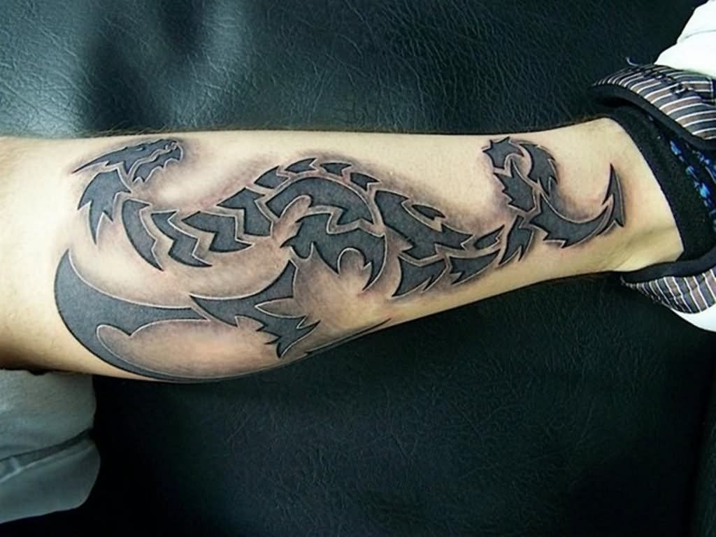 25 incredible 3d dragon tattoos