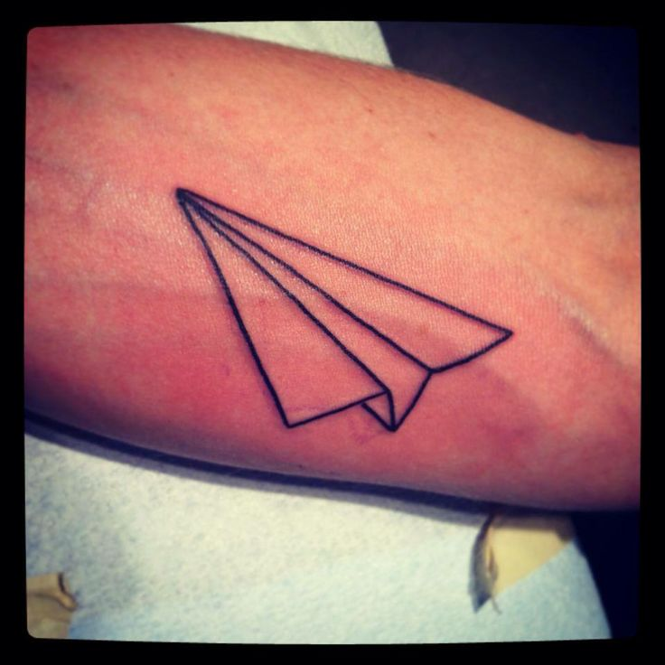 80+ Cool Airplane Tattoos