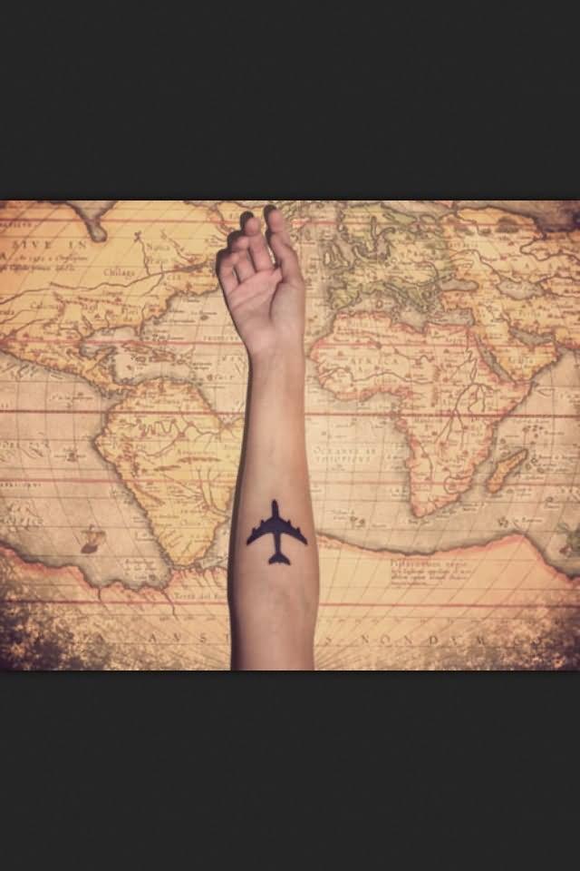 80 Cool Airplane Tattoos