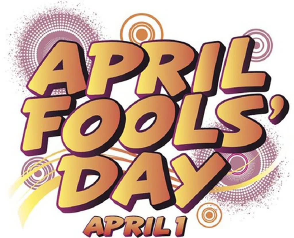 April Fools Day Beautiful Clipart