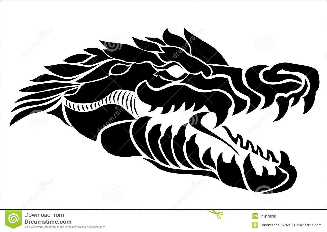 d5647c80dd141 Awesome Black Alligator Head Tattoo Stencil