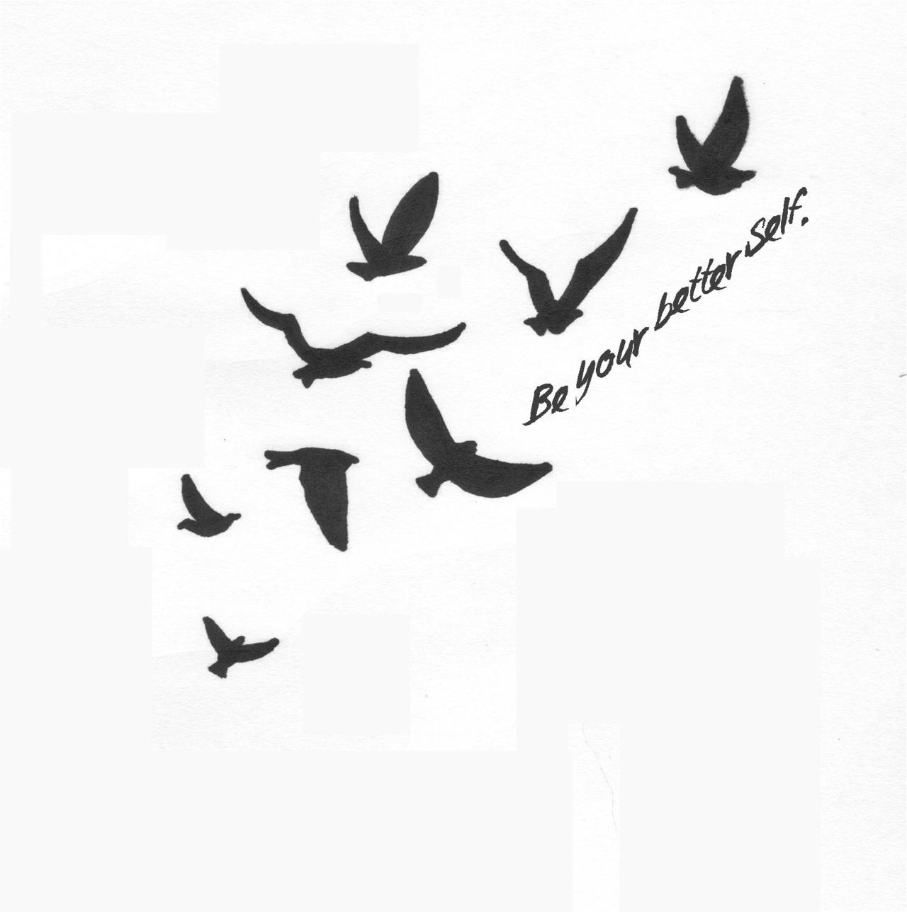 38 unique birds tattoos designs for Bird tattoo designs