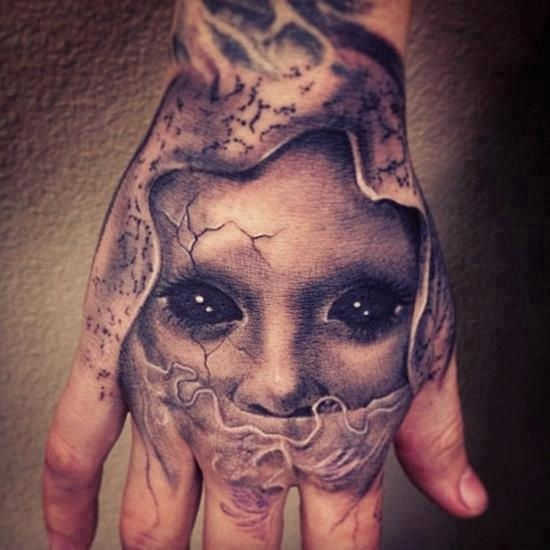 10 unique 3d hand tattoos for 3d hand tattoo