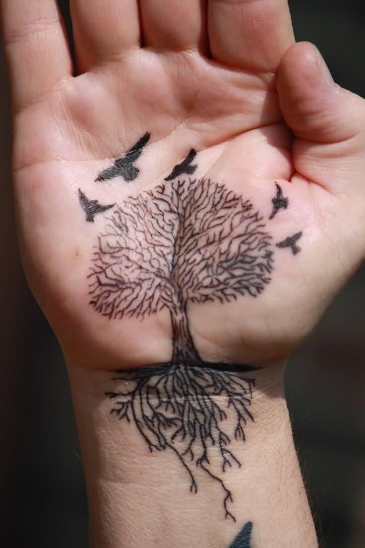 65 cute birds tattoos ideas for Family of birds tattoo