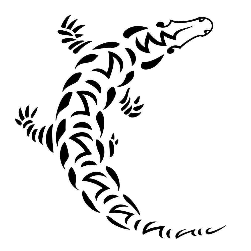 35 awesome alligator designs