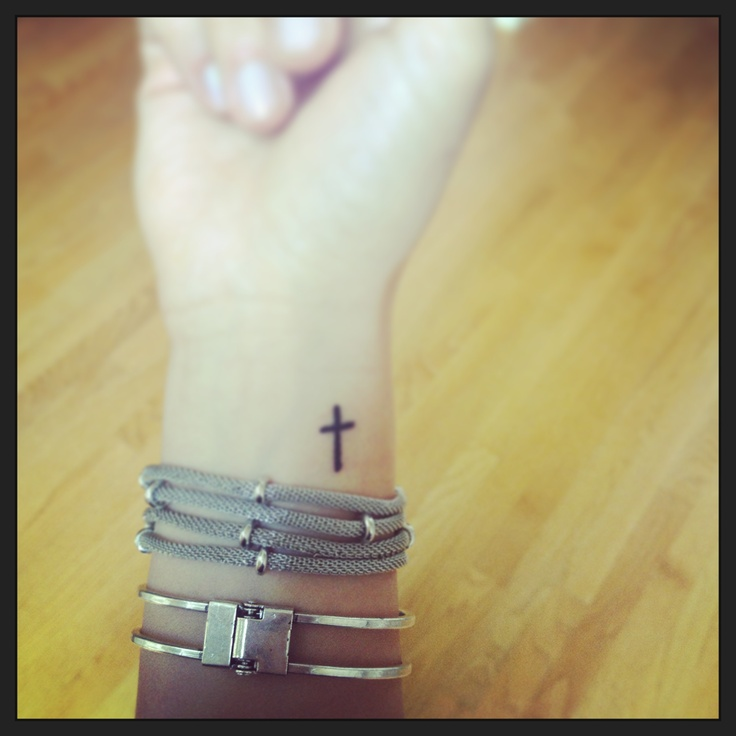 50 cross wrist tattoos. Black Bedroom Furniture Sets. Home Design Ideas