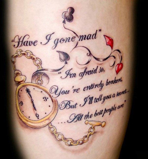 27 Inspiring Rose Tattoos Designs: 50+ Inspirational Quotes Tattoo