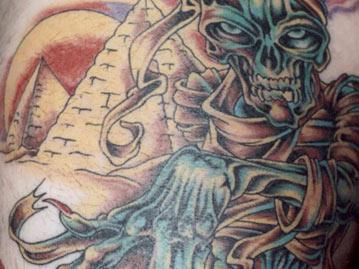 65 scary mummy tattoos for Egyptian mummy tattoos