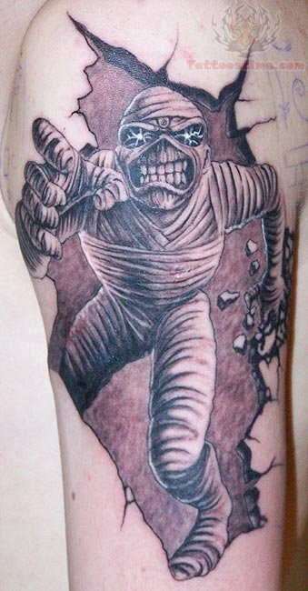 65 scary mummy tattoos. Black Bedroom Furniture Sets. Home Design Ideas