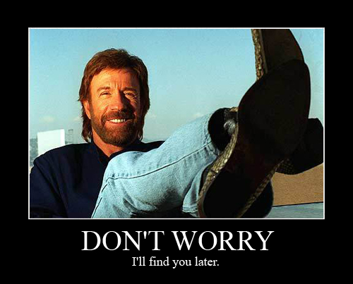 Chuck norris dont fuck with chuck