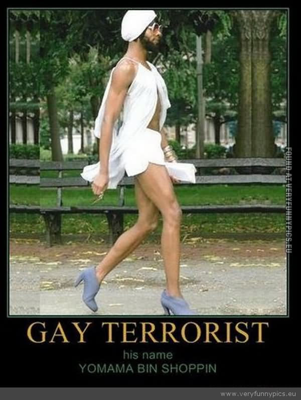 Europe and UK Funny-Gay-Terrorist-Picture